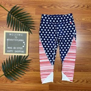 Tommy Hilfiger Stars & Stripes Patriotic Leggings